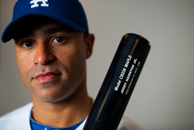 Glendale, AZ - March 2: Los Angeles Dodgers Photo Day - Ivan DeJesus
