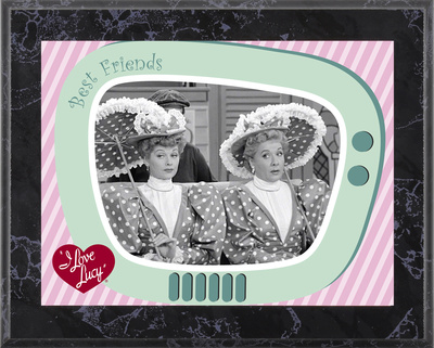 I Love Lucy - A Wonderful Pair plaque Art Plaque