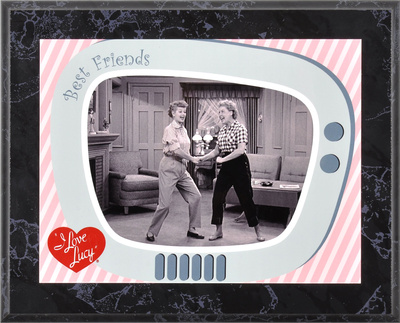 I Love Lucy - Friendship plaque