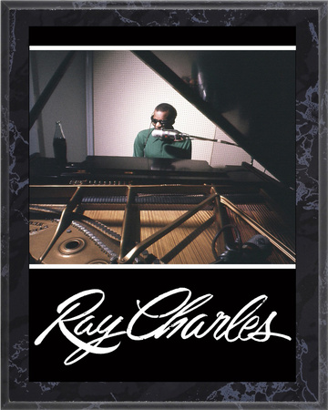 Ray Charles Art Plaque