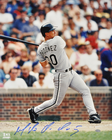 Magglio Ordonez Chicago White Sox Autographed Photo (Hand Signed Collectable)