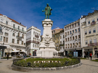 Central Square of Coimbra, Portugal, Europe