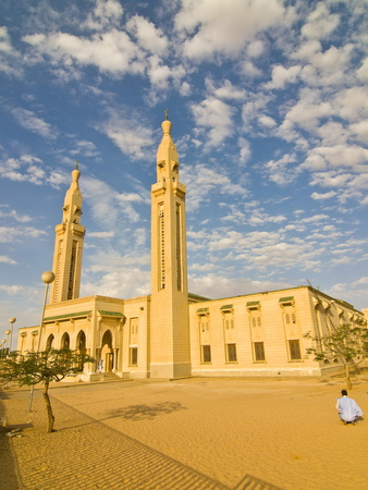 Central Mosque in Nouakchott, Mauritania, Africa