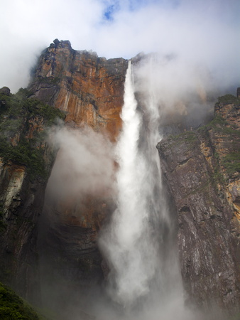 View of Angel Falls From Mirador Laime, Canaima National Park, Guayana Highlands, Venezuela