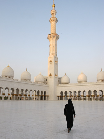 Sheikh Zayed Grand Mosque, the Biggest Mosque in the U.A.E., Abu Dhabi