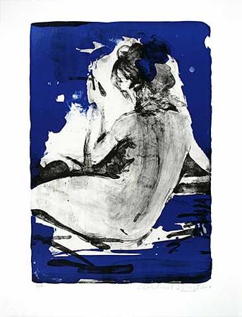Rücken vor blau III, c.2007 - Limited Edition