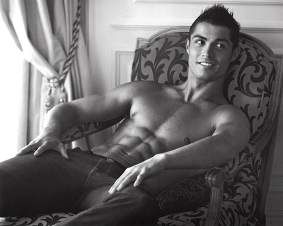 Buy Cristiano Ronaldo Real Madrid Sports Sexy Glossy Photo Photograph Print at AllPosters.com