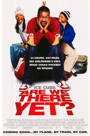 Are We There Yet? Original Movie Poster Ice Cube Nia Lo