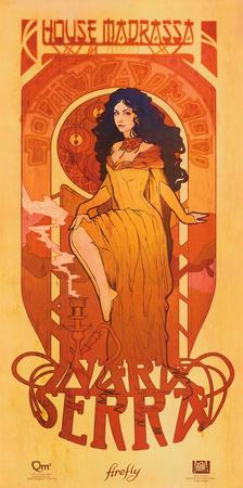 Serenity Movie Firefly Les Femmes Inara Serra Poster Print Mini Poster