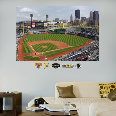 Pittsburgh Pirates PNC Park Stadium Mural