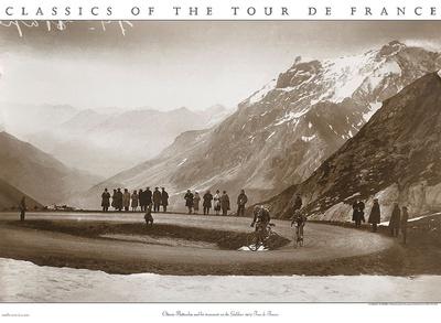 Snow on the Galibier, c.1924 Art Print