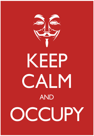 Keep Calm and Occupy Poster