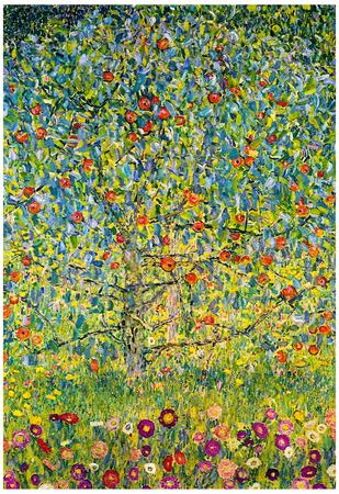Gustav Klimt Apple Tree Art Print Poster Poster