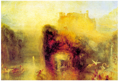 Joseph Mallord Turner Queen Mab's Cave Art Print Poster