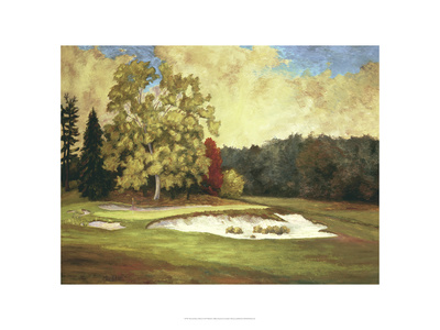 After the Rain at Merion Giclee Print