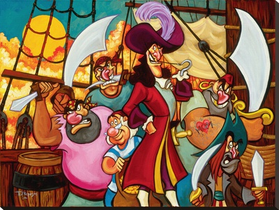 Captain Hook And His Gang