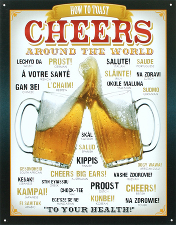 Cheers Around The World Beer