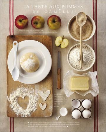 Camille's Apple Pie - Art Print
