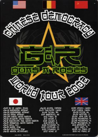 Buy Guns N Roses Chinese Democracy World Tour 2002 at AllPosters.com