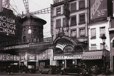 Paris Nightclub 1930 Archival Photo Poster Print