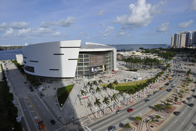 Miami, FL - June 17: General view of American Airlines Arena prior to the start between the Oklahom