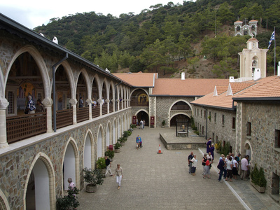 Kykkou Monastery, Troodos ...