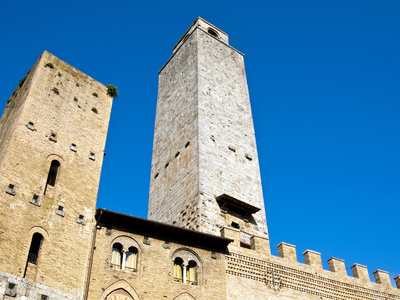 San Gimignano, UNESCO World Heritage Site, Tuscany, Italy, Europe