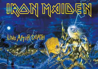 Poster Iron Maiden - Live After Death..