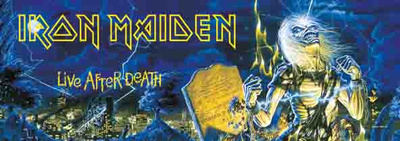 Poster Iron Maiden - Life After Death..