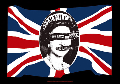 Sex Pistols - God Save the Queen - Buy this fabric poster at AllPosters.com