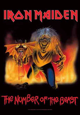 Poster Iron Maiden - The Number Of The Beast..