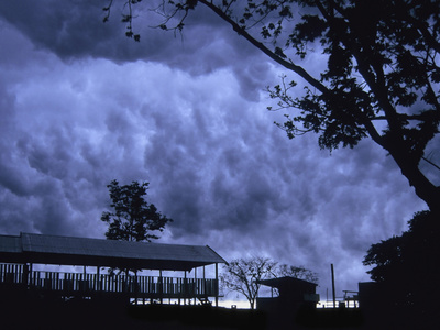 Storm over the Amazon Rainforest, Brazil