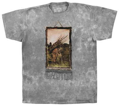 Led Zeppelin - Man With Sticks T-Shirt