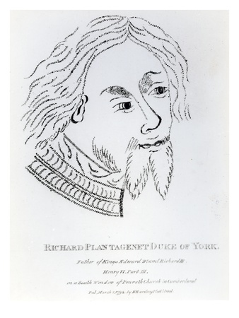 Richard of York, 3rd Duke of York, Published in 1792 (Engraving)