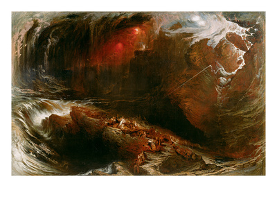 The Deluge, 1834 (Oil on Canvas)