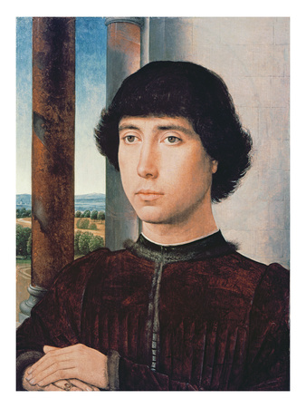 Portrait of a Young Man, C.1470-75 (Oil on Panel)