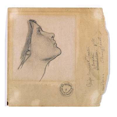 Study for 'Lamia', C.1904-05 (Pencil on Paper)