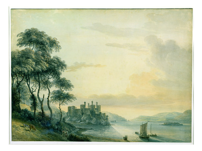 Conway Castle, 1789 (W/C on Paper)