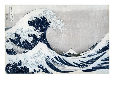 The Great Wave of Kanagawa, from the Series '36 Views of Mt. Fuji' ('Fugaku Sanjuokkei')