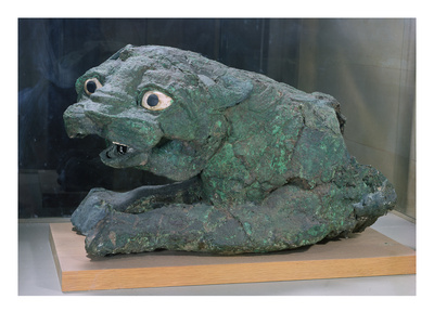 Gate Guardian in the Form of a Lion, from the Temple of Dagan in Mari, Middle Euphrates