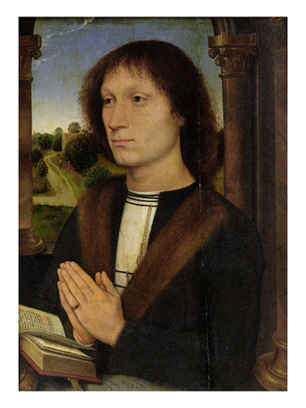Portrait of Benedetto Portinari (1466-1551) 1487 (Oil on Panel)