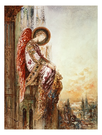 angel art Gustave Moreau