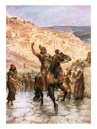The Assyrian Rabshakeh Demanding the Surrender of Jerusalem