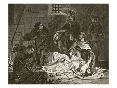 Burial of the Murdered Sons of Edward Iv, in the Tower, Engraved by Butterworth and Heath