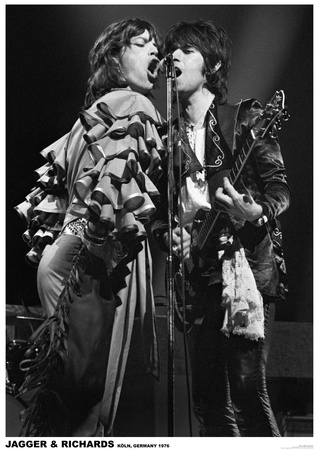 Jagger and Richards - Buy this poster at AllPosters.com