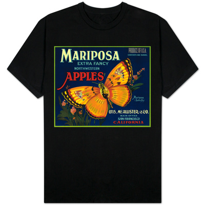 Mariposa Apple Label - San Francisco, CA