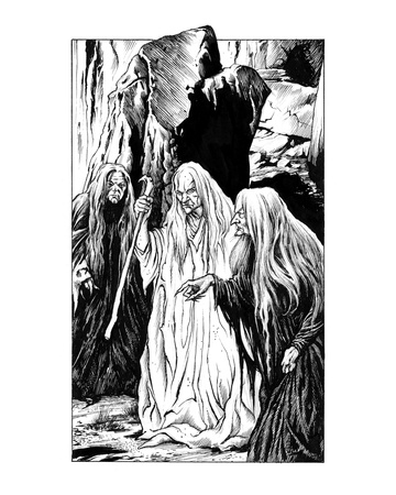 Crones (Revenge of the Vampire, Illustration no. 11)