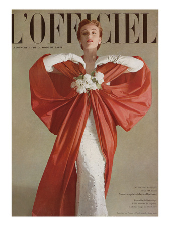 L'Officiel, April 1951 - Ensemble de Balenciaga