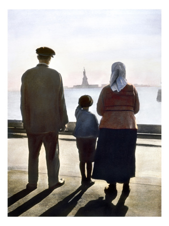 Immigrants: Ellis Island
