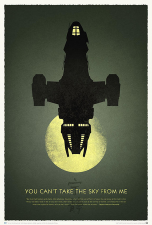 Firefly 10th Anniversary - You Can't Take the Sky from Me Television Poster